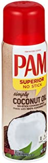 Pam Coconut Oil Cooking Spray, 5 Ounce -- 12 per case.