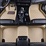 LUVCARPB Alfombrillas Interiores del Coche, aptas para Asientos Jaguar XJ 5 2010-2020, Accesorios Impermeables para alfombras de Coche
