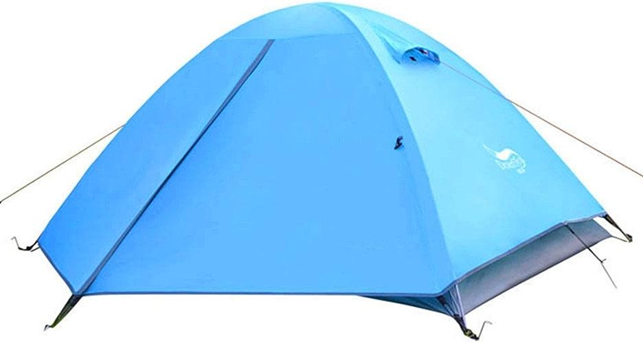 QAR Tente Extérieure Double Double Pole Tente Professionnelle De Camping Storm Storm Tente