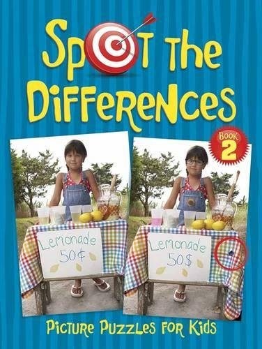 Spot the Differences Picture Puzzles for Kids 2 (Dover Fun and Games for Children)