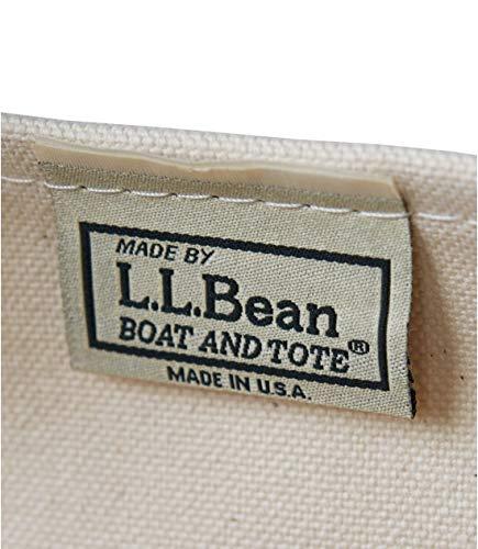 L.L.Bean(エルエルビーン)ボート・アンド・トート・バッグジップ・トップラージキャンバスFossilBrownブラウン0YL5982001