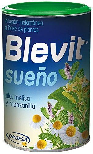 Blevit Sueño, 1 bote 150grs. Ifusión instantánea elaborada a base de extractos solubles de plantas (tila, melisa y manzanilla)