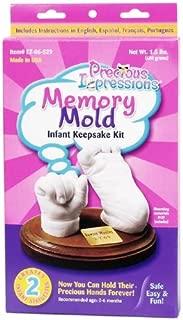 baby footprint plate kit