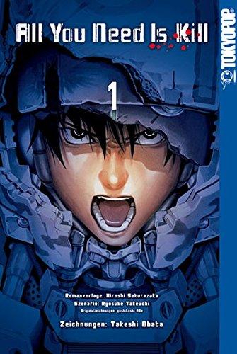 All You Need Is Kill Manga 01: The Edge of Tomorrow