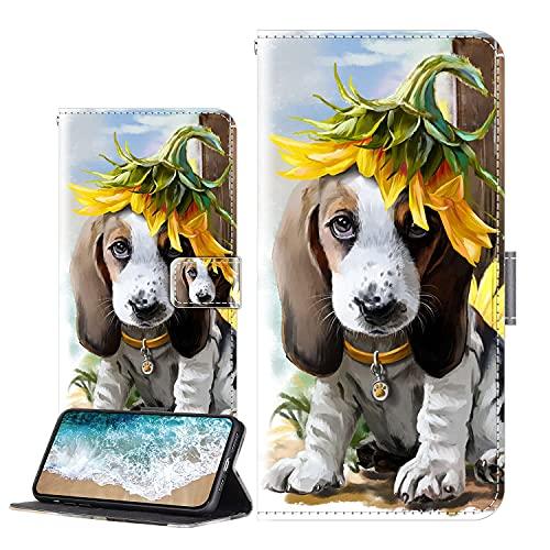 Cherfucome Handytasche für Xiaomi Mi Mix 3 5G Hülle Leder Tasche Brieftasche Flip Hülle Cover Xiaomi Mi Mix 3 5G Handyhülle Ledertasche Lederhülle Schutzhülle [C06*Tiger Kuss]