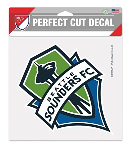 MLS Seattle Sounders 8x8 Perfect Cut Color Decal