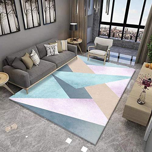 Alfombra suave y esponjosa, antideslizante, para sala de estar, gran área, moderna, para dormitorio, tamaño extra grande, no se desprende, 200 x 300 cm