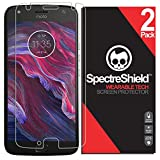 [2-Pack] Spectre Shield Screen Protector for Motorola Moto X4 Case Friendly Motorola Moto X4 Screen Protector Accessory TPU Clear Film