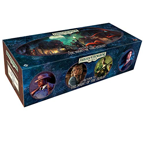 Fantasy Flight Games FFGAHC26 Return to The Night of The Zealot: Arkham Horror LCG Exp, Multicolor