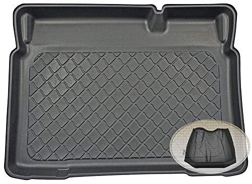 Preisvergleich Produktbild ZentimeX Z3290606 Gummierte Kofferraumwanne fahrzeugspezifisch + Klett-Organizer (Laderaumwanne,  Kofferraummatte)