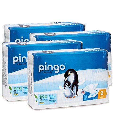 Couches PINGO Taille 2 3/6kg (168couches)