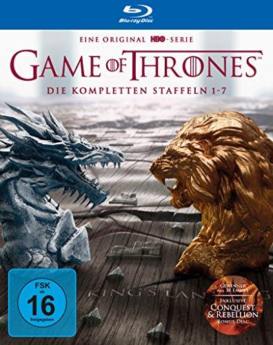 Game of Thrones: Die kompletten Staffeln 1-7 als Digipack (exklusiv bei Amazon.de) (Limited Edition) [Blu-ray]