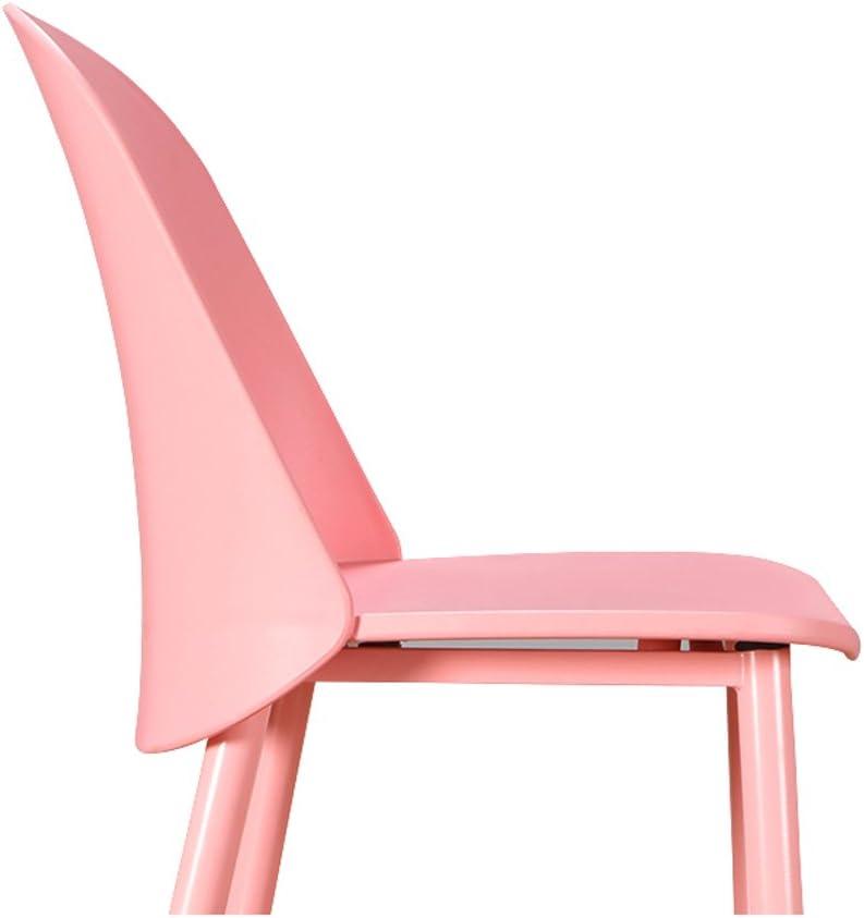 SLL- Chaise de Bureau Simple négociation Occasionnelle réception Mode dinant la Chaise Moderne (Color : C) D