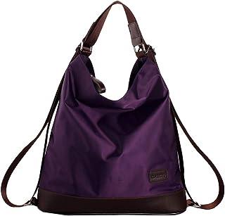 1f072af3afb Goodbag Boutique Women Waterproof Nylon Tote Handbag Girl Versatile Satchel  Purse Messenger Shoulder Bag