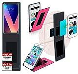 Hülle für LG V30S ThinQ Tasche Cover Hülle Bumper   Pink   Testsieger