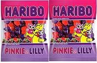 ハリボー グミ 各種2袋セット ((2016年発売)ピンキー&リリー200g×2)