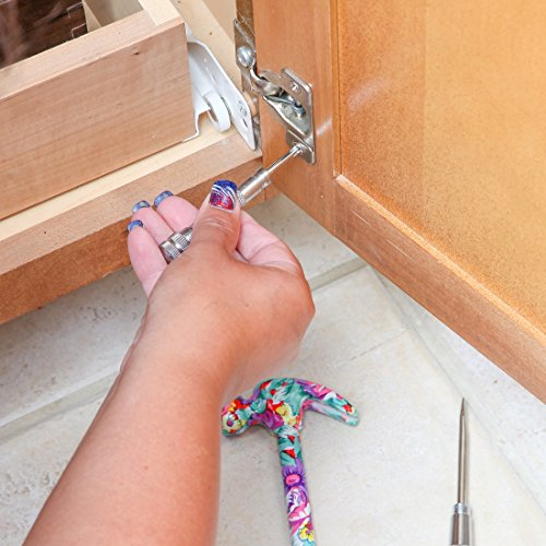 Home-X 6 in 1 Floral Hammer and Screwdriver Tool