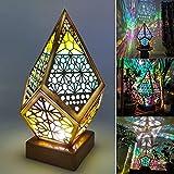 Lámpara de pie grande Polar Star, Polar Star Lámpara de pie Grande Luces LED de Diamantes de Colores Lámpara de Noche Hueca de proyección 3D para el hogar, fiesta, boda, Navidad