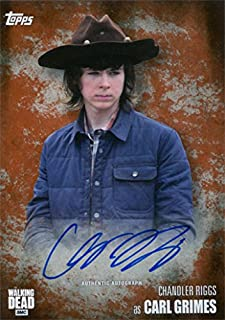 chandler riggs autograph