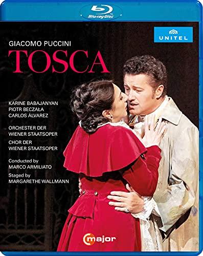 プッチーニ : 歌劇《トスカ》 / ウィーン国立歌劇場 (Puccini : Tosca / Wiener Staatsoper) [Blu-ray] [Import] [日本語帯・解説付き] [Live]