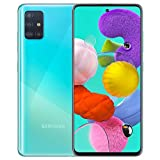 Samsung Galaxy A51 (128GB, 4GB) 6.5', 48MP Quad Camera, Dual SIM GSM Unlocked A515F/DS- Global 4G LTE International Model - Prism Crush Blue