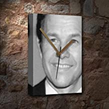 SEASONS MARK WAHLBERG - Canvas Clock (A4 - Signed by the Artist) #js003