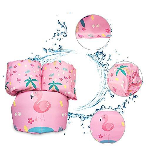 ACMEDE Schwimmflügel Baby Kinder Schwimmscheiben Schwimmhilfe für Kleinkinder ab 1 Jahr , Schaumstoff Polsterung