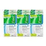 Fleet Laxative Saline Enema for Adult Constipation, 4.5 fl oz, 4 Bottles, 6 Pack