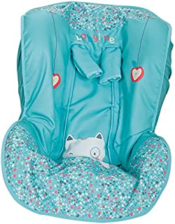 Funda para silla de Automóvil, Universal Grupos 0/1/2, Cubre arnés de regalo!!! (Ardilla Azul)