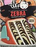 zebra birthday cake mix