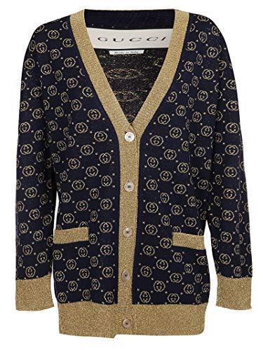 Luxury Fashion | Gucci Dames 605910XKAHT4597 Donkerblauw Wol Vesten | Lente-zomer 20