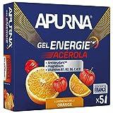APURNA - GEL ENERGIE Passage difficile - ORANGE ACEROLA - Energisant - Made in France - 5x35g