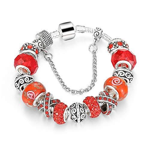 Armband voor dames, vintage armband, legering, grote gat, parels met micro-ingelegde zirkonia, creatieve retro parelaccessoires, armband, sieraden, voor damesmode kleding gepersonaliseerde bijpassende accessoire