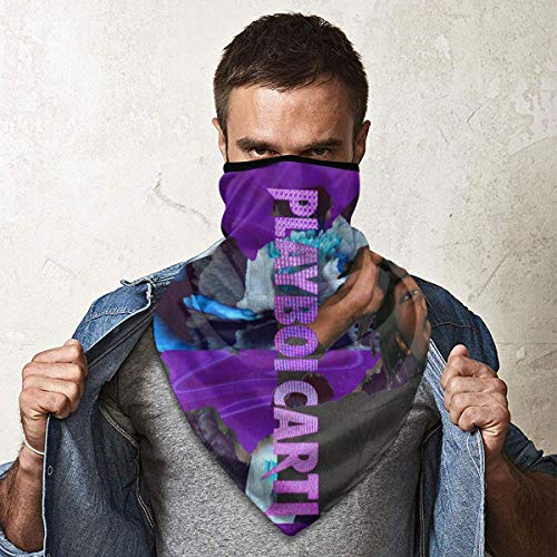 Playboi Carti Máscara facial para el sol, resistente al viento, máscara de esquí para clima frío, para esquí, snowboard, motociclismo, deportes de invierno para hombres y mujeres