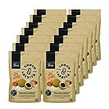 Panda ®   Choco&Lakrits con Caramelo Salado   Regaliz salado con chocolate con leche cubierto con caramelo en polvo   Dulces de chocolate Rainforest Alliance   Pack 120 Gr x 14 Bolsas