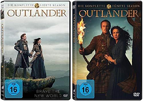 Outlander Staffel 4+5 [DVD Set]