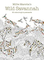 Millie Marotta's Wild Savannah Postcard Box: 50 beautiful cards for colouring in