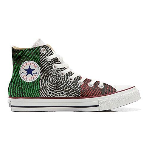 Original Sneakers Personalizadas (Producto Hecho a Mano) Zapatos Personalizados (Producto Handmade) Bandera Americana (USA) - TG41