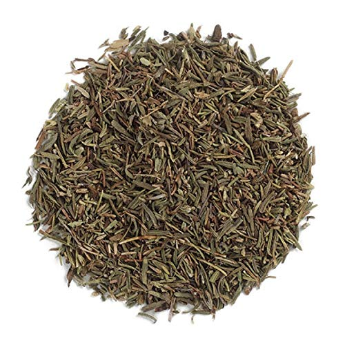 Frontier Co-op Thyme Leaf, Fancy Grade, Kosher, Non-irradiated   1 lb. Bulk Bag   Thymus vulgaris L.