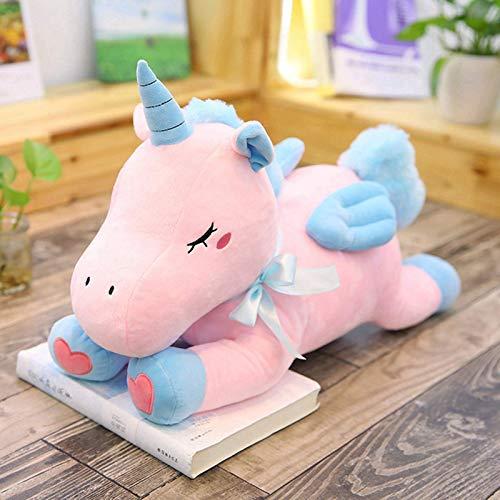 N / A 1 unid Lindo Pony Animal de Peluche de Juguete Suave Felpa muñeca de Dibujos Animados Animal Caballo niño Regalo de cumpleaños de Navidad 50 cm