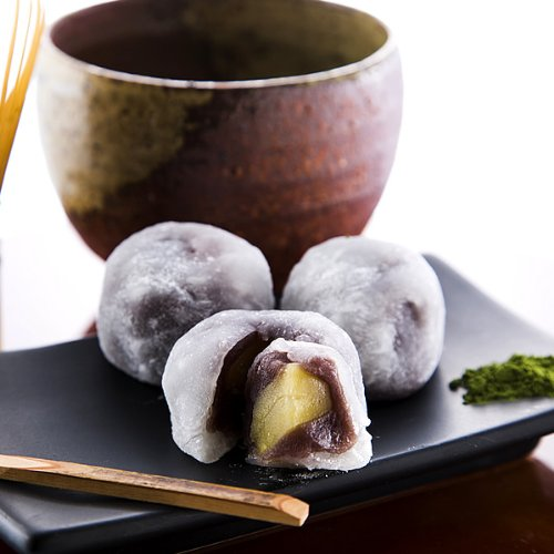 新杵堂 栗大福 純白 15個 餅 スイーツ 和菓子 ギフト お土産