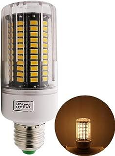 ALBN Bombilla LED (E27, 12 W, equivale a 120 W, luz Blanca cálida, 3000 K, 1 Unidad)