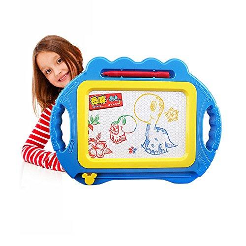 Pizarra Magnética para Niños,Pizarra Magica Infantil,Digital Tablet para Dibujar,Cosas para Bebes Recien Nacidos,Juegos Educativos Niños 3 Nños/4 Nños/5 Nños Regalo de cumpleaños (Azul)