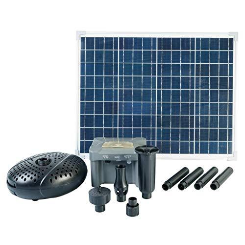 Ubbink SolarMax 2500 set met zonnepaneel, pomp en accu
