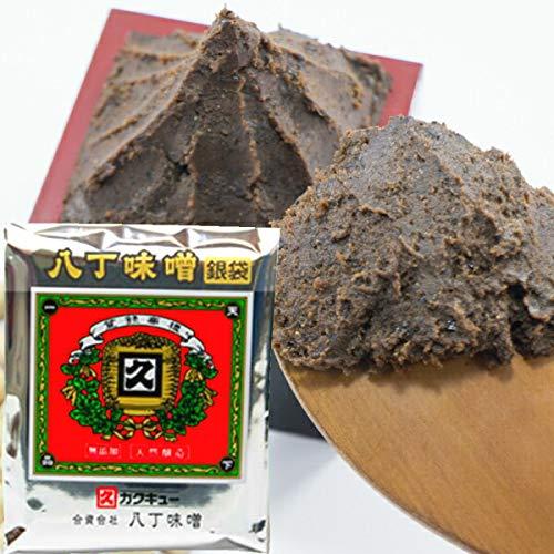 八丁味噌 カクキュー 国産大豆八丁味噌 銀袋 300g×5個 赤味噌