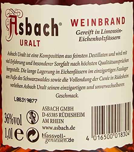 Asbach Uralt Weinbrand (1 x 1 l) - 4