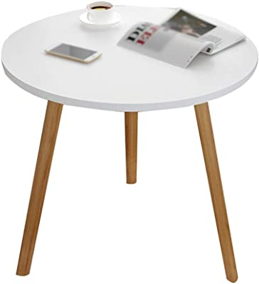 CSQ Doble de Madera Mesa de café, fácil de Montar Mesa