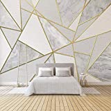 Impermeable fácil aplicación Fondo de Pantalla ext Moderna Simple 3D geométrica de mármol del...