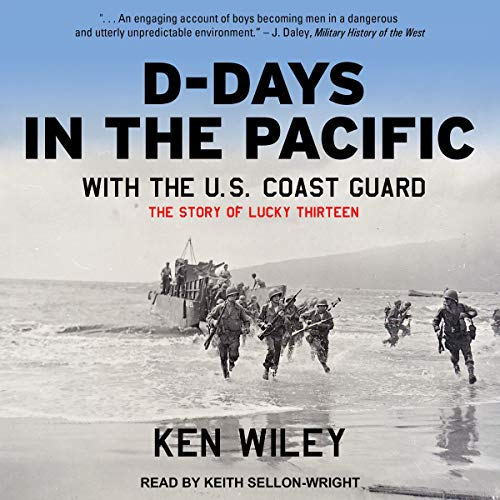 D-Days in the Pacific with the U.S. Coast Guard audiobook cover art
