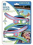 Boca Clips 2pk Flip Flop Beach Towel Clips Blue & Pink